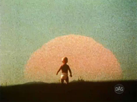 modern graphic designer saul bass solar energy film