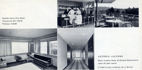 Modern Swiss Design - Hotel Astoria Lucerne brochure