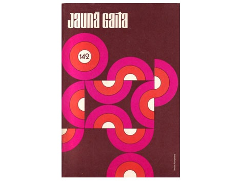 53 years of Jauna gaita magazine cover design