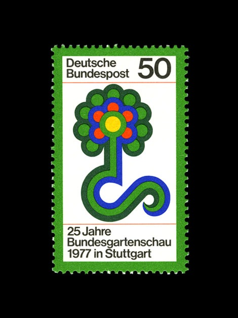 west german stamps 1970s