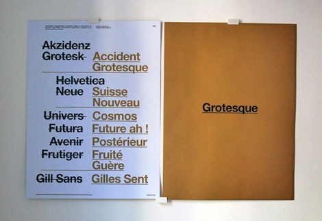 akzidenz grotesk swiss poster