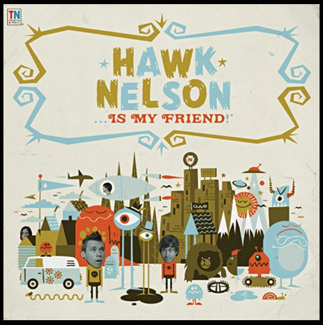 hawk nelson cd design
