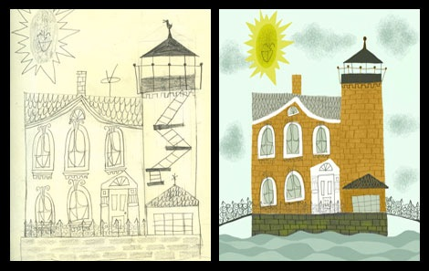 matte stephens light house sketches