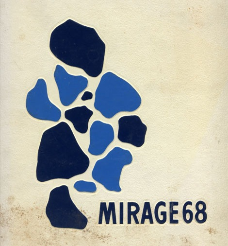 depauw mirage 1968 year book