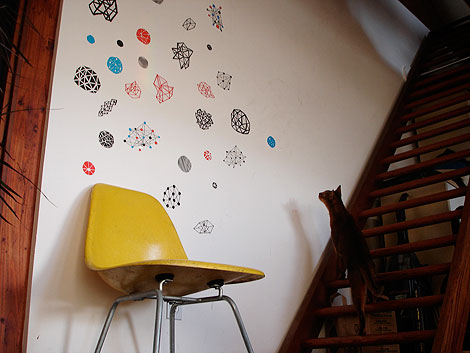 spacetime wall art