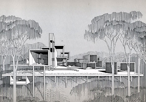 paul rudolph drawings
