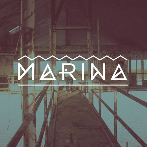 Marina font by Angelica Baini  via grain edit