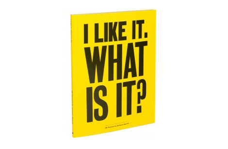 Anthony Burrill Book via #grainedit