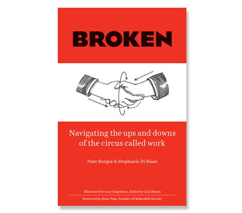 Broken the book