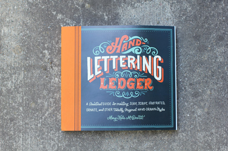 Hand Lettering Ledger on grainedit.com