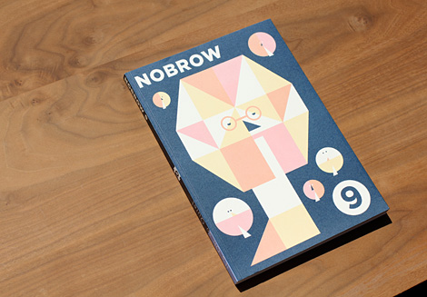 Nobrow9 on grainedit.com