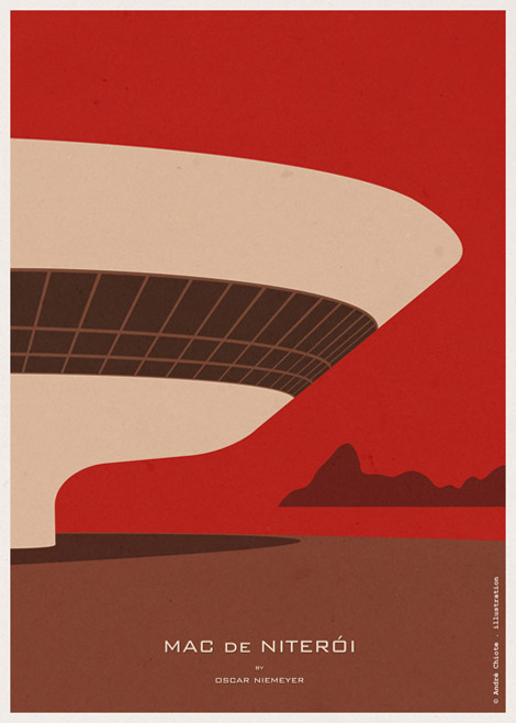 World Cup posters by Andre Chiote on grainedit.com