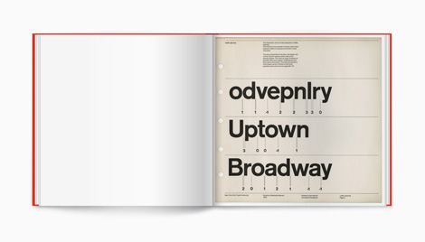 NYC Transit Authority Graphics Standards Manual