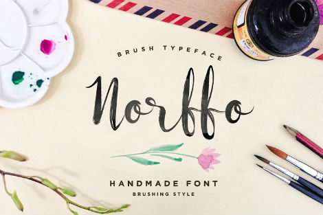 norfo font