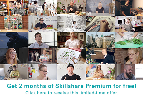 grain editGet 2 Months of Skillshare Premium for Free