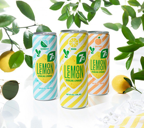 7Up Lemon Lemon Brand Packaging by PepsiCo Design and Innovation