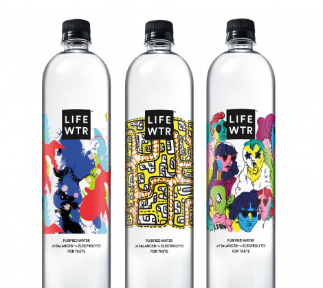 LIFEWTR Series 3:Emerging Fashion Design Brand Packaging by PepsiCo Design and Innovation