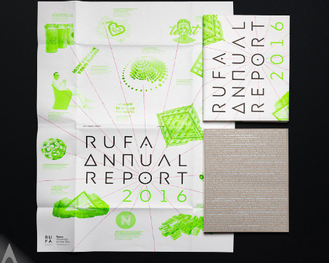 RUFA Annual Report 2016 Annual Report by Intorno Design