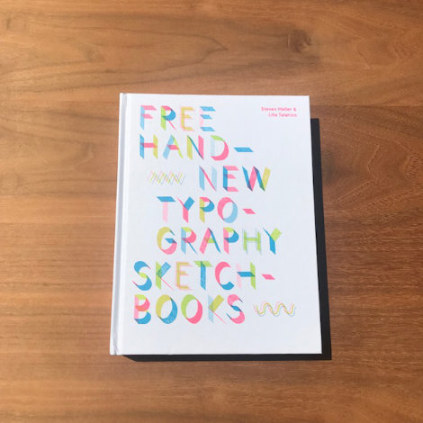 Free Hand typography sketchbooks
